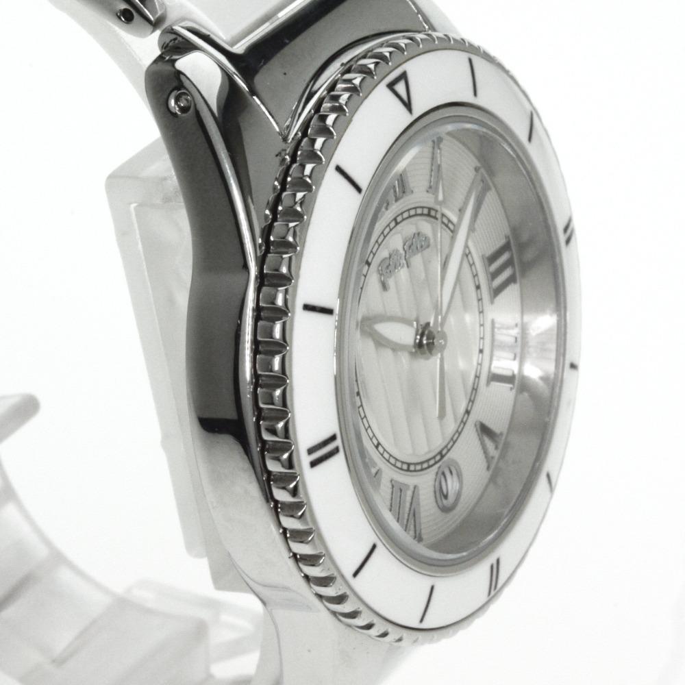 Folli Follie WF6T019BD手表不锈钢/陶瓷器女士
