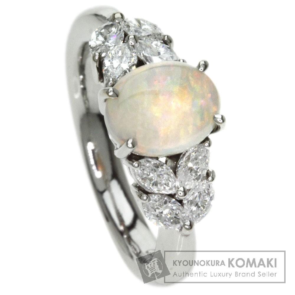 1.32ct オパール/ダイヤモンド リング・指輪 プラチナPT900 9.4g レディース 【中古】