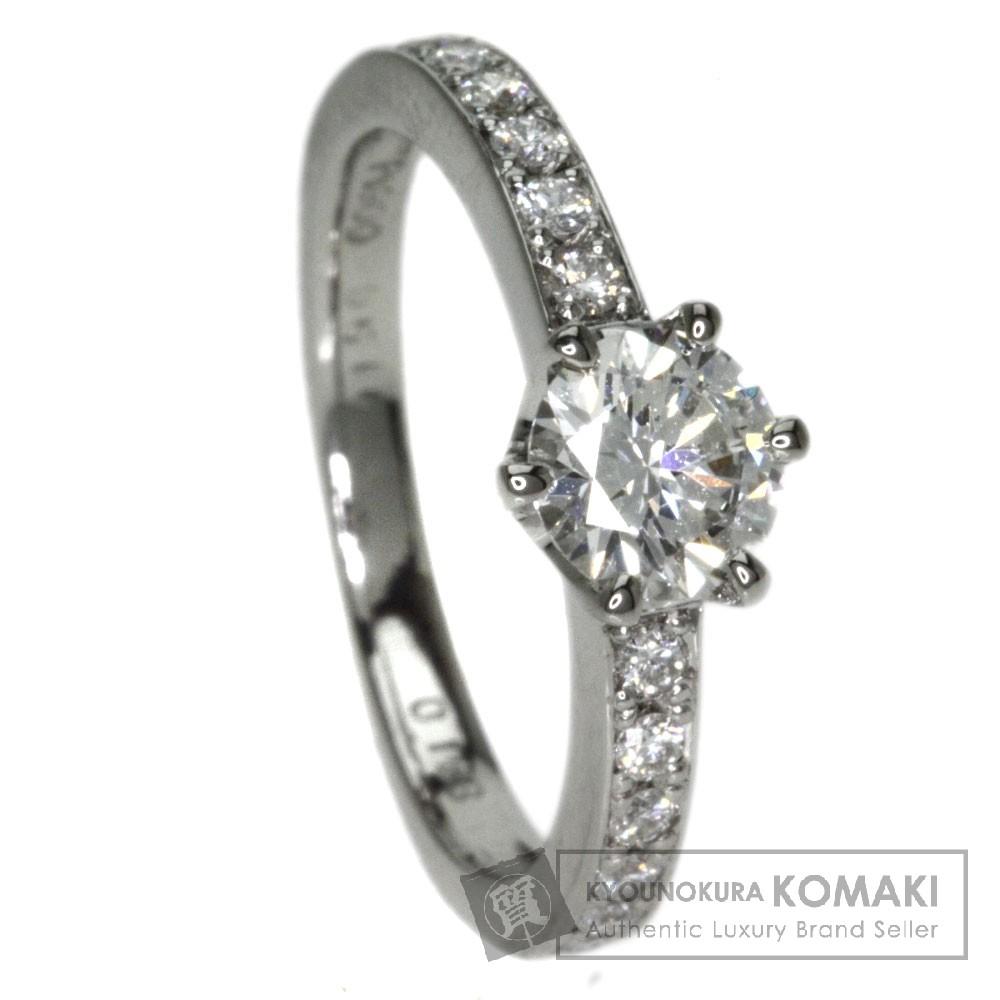 0.51ct ダイヤモンド リング・指輪 プラチナPT900 3.4g レディース 【中古】