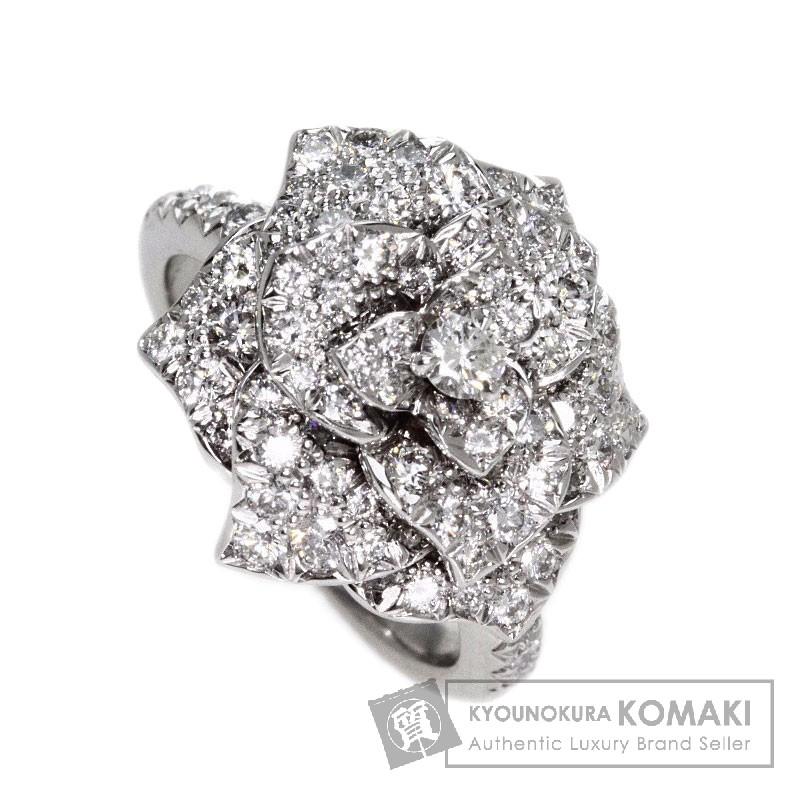 PIAGET ロースダイヤモンド リング・指輪 K18ホワイトゴールド レディース 【中古】【ピアジェ】