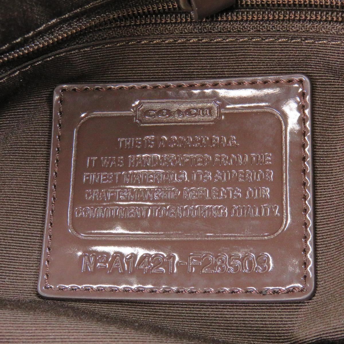 教练签名 F28508 袋帆布 / 皮革女性