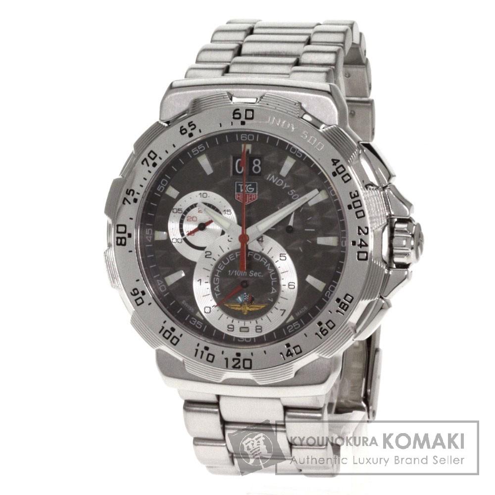 标签 HEUERCAH101A 公式 1 印地 500 男士手表不锈钢