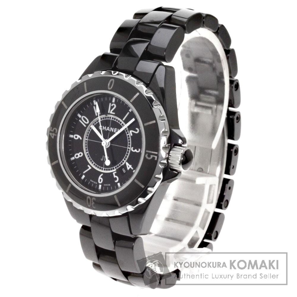 CHANEL【シャネル】H0682 J12 腕時計 ステンレススチール/セラミック レディース 【中古】