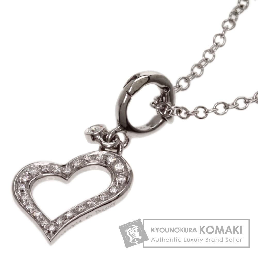 PIAGET【ピアジェ】 ライムライト ダイヤモンド ネックレス K18ホワイトゴールド レディース 【中古】