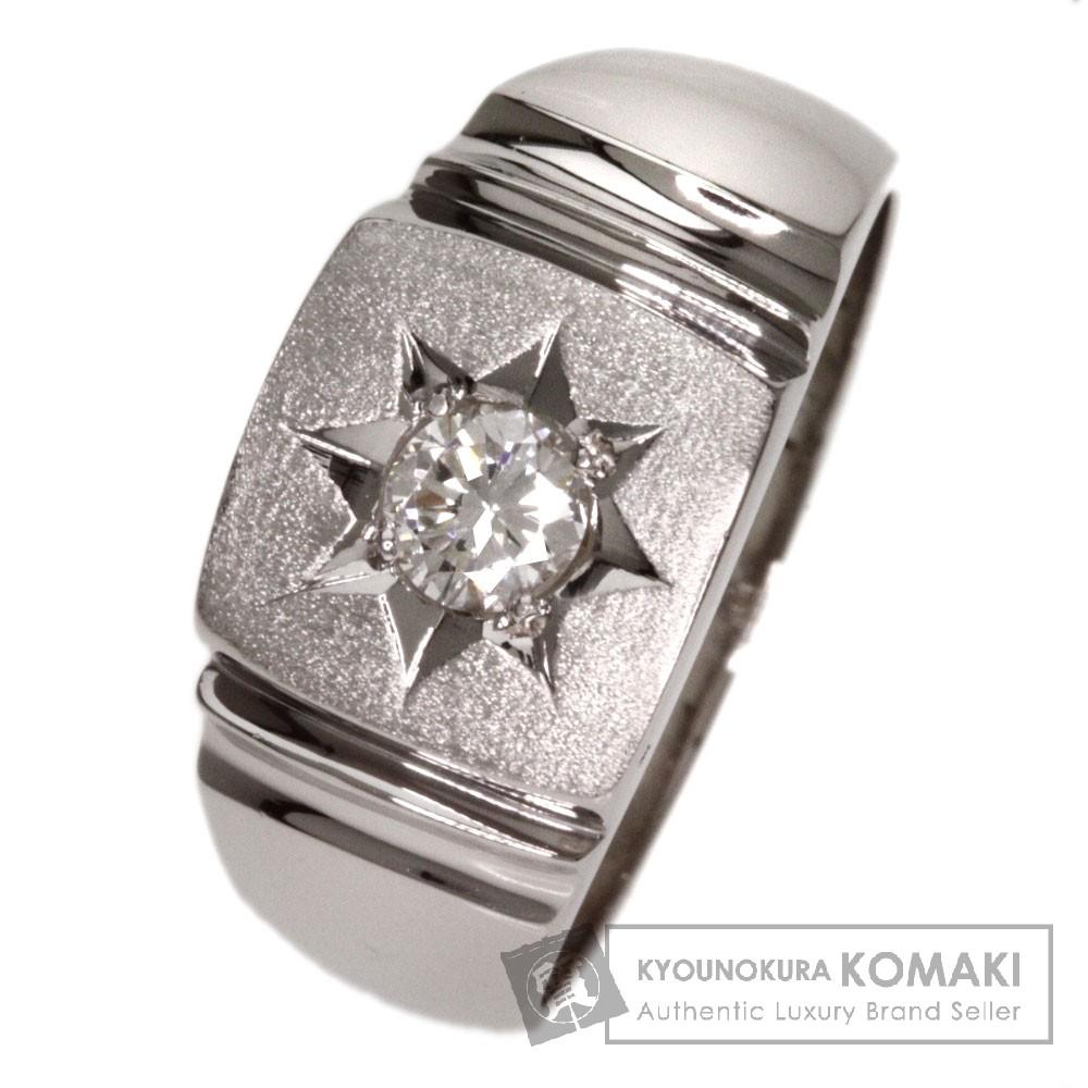 0.27ct ダイヤモンド リング・指輪 プラチナPT850 14.6g レディース 【中古】