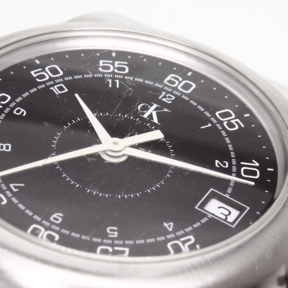 卡尔文克莱恩 K18121 手表不锈钢 /SS 男装