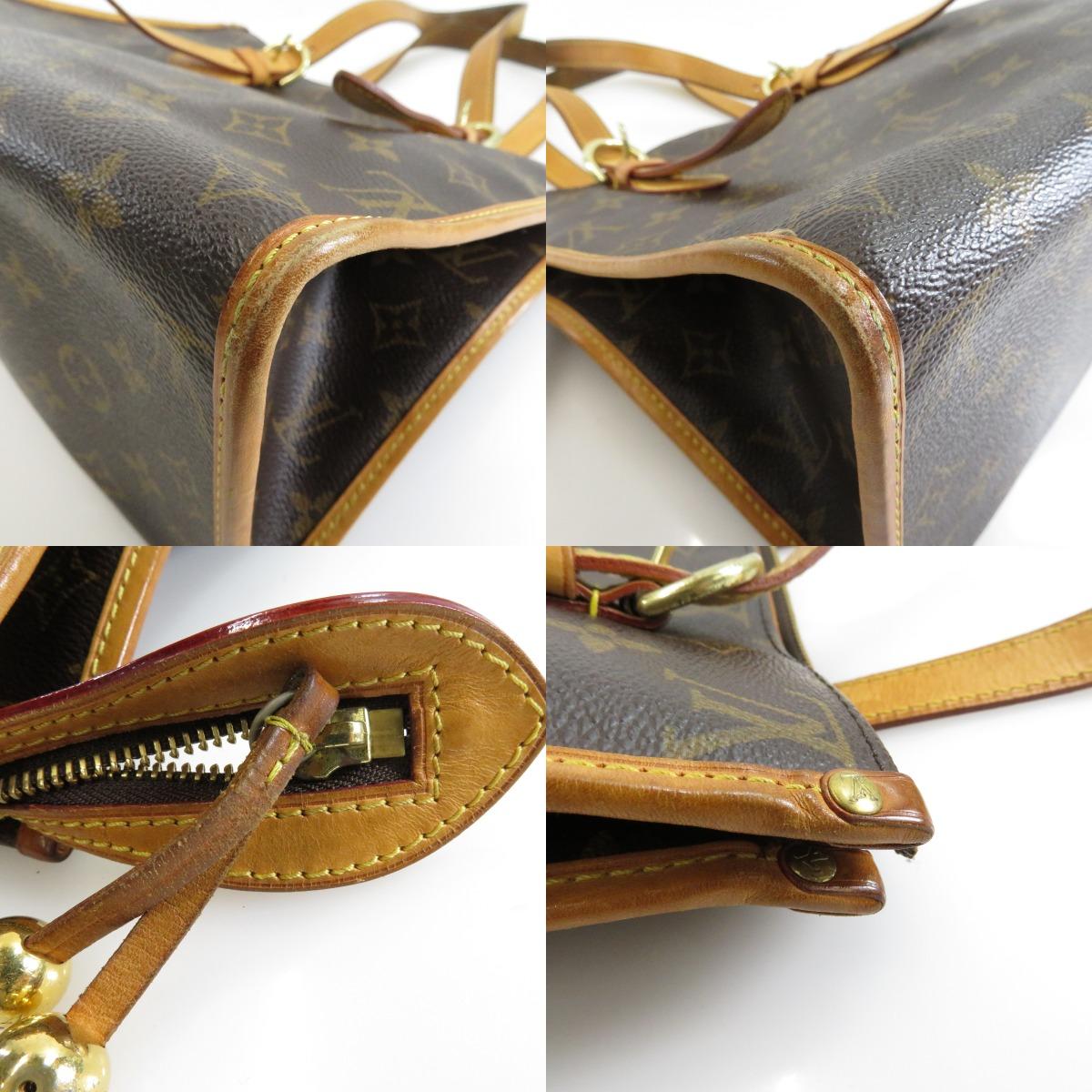 路易 · 威登 popenool o M40007 手提袋 Monogram 帆布女士