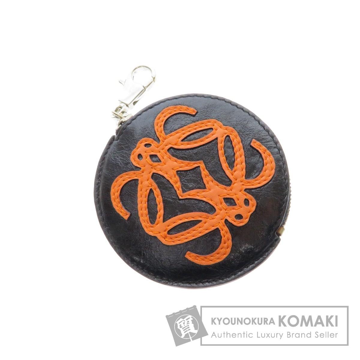 LOEWE【ロエベ】 ロゴデザイン コインケース レザー レディース 【中古】