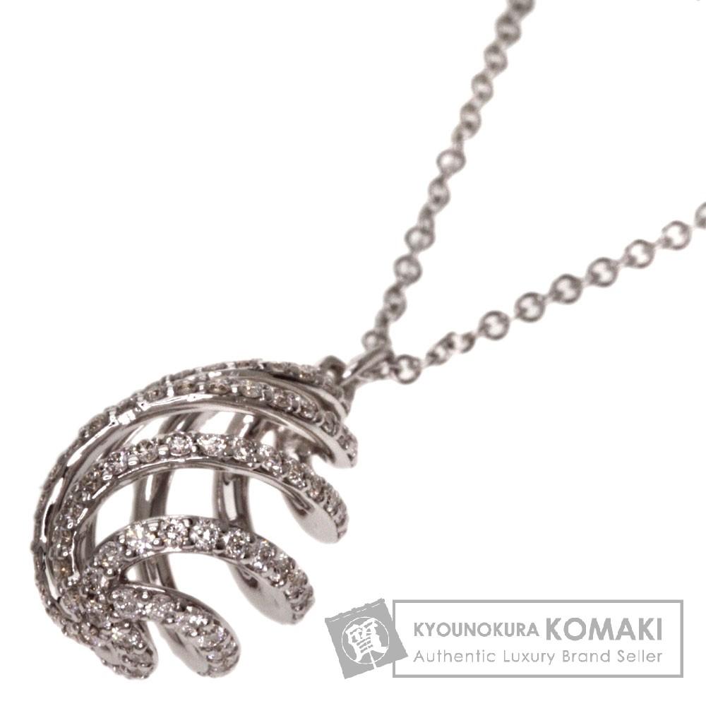 TIFFANY&Co.【ティファニー】 ルーチェ ダイヤモンド スモール ネックレス K18ホワイトゴールド レディース 【中古】