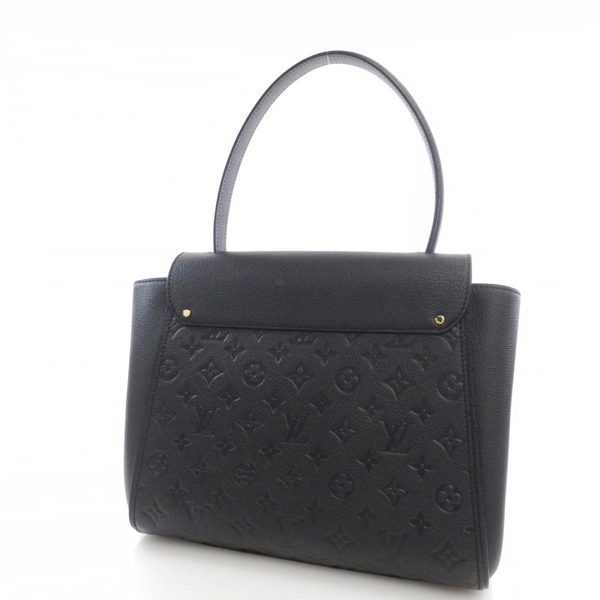Authentic LOUIS VUITTON  Trocadero M50439 Handbag Empreinte
