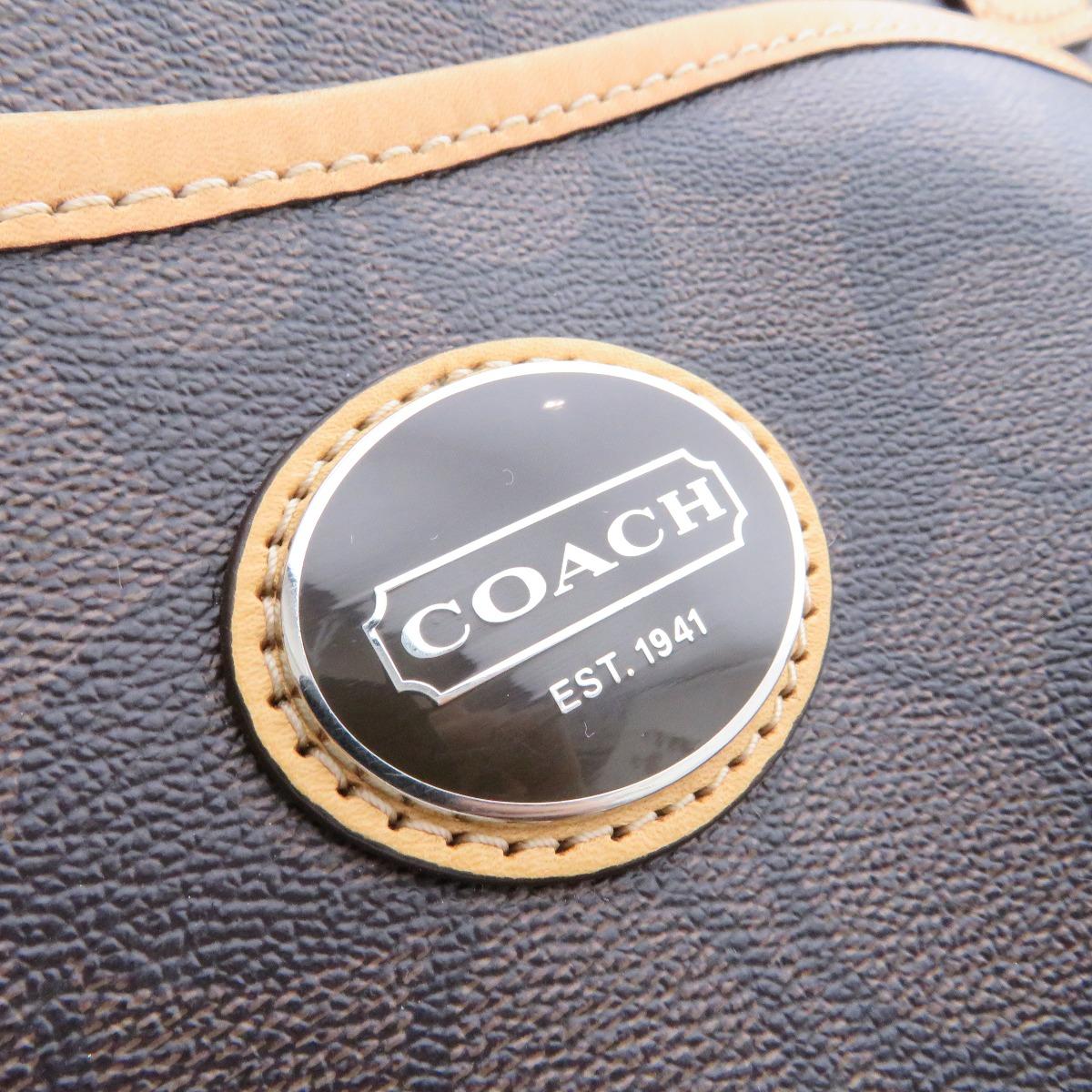 COACH信号F77319大手提包PVC女士