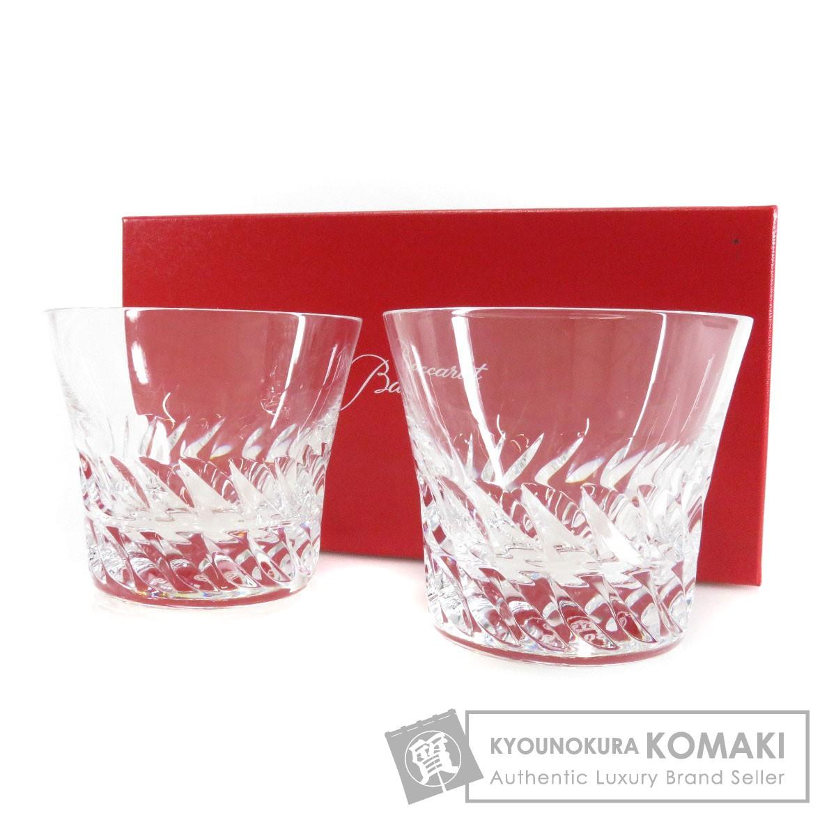Baccarat ペアグラス グラス クリスタル ユニセックス 【中古】【バカラ】