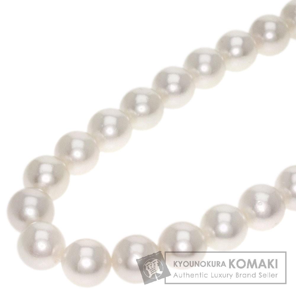 真珠 ネックレス シルバー 100.5g レディース 【中古】