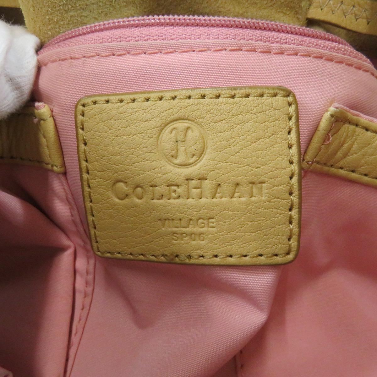 Authentic Cole Haan  Tassel Handbag Leather