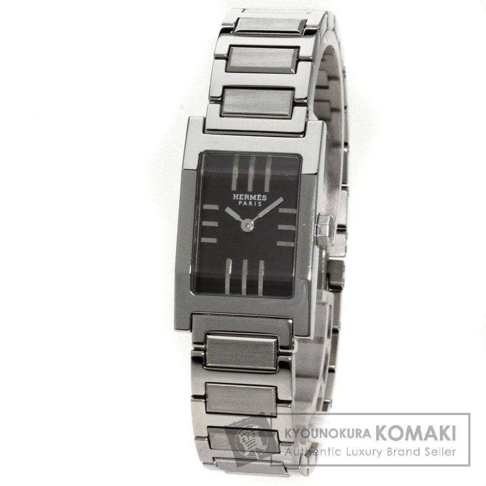 HERMESTA1.210 タンデム 腕時計 ステンレス/SS レディース 【中古】【エルメス】