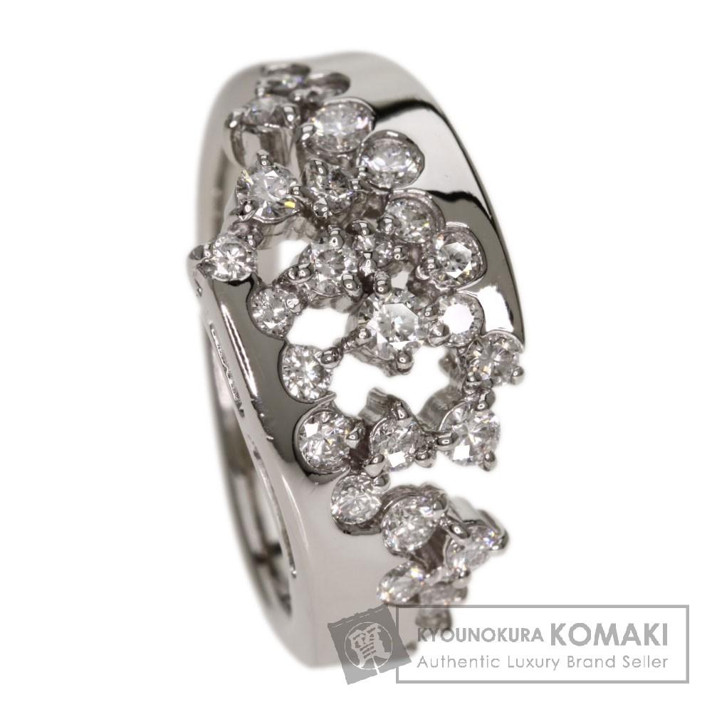 0.76ct ダイヤモンド リング・指輪 Pt900 9.9g レディース 【中古】