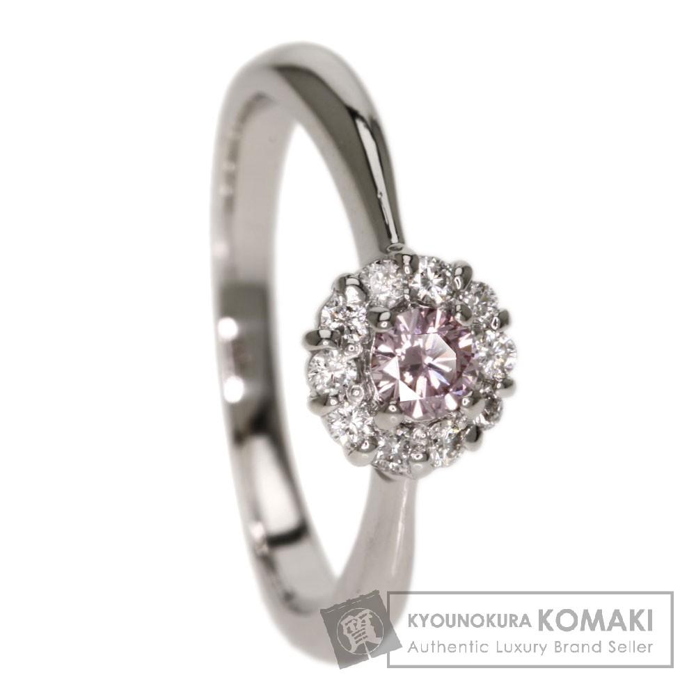 0.161ct ダイヤモンド リング・指輪 プラチナPT900 4.4g レディース 【中古】