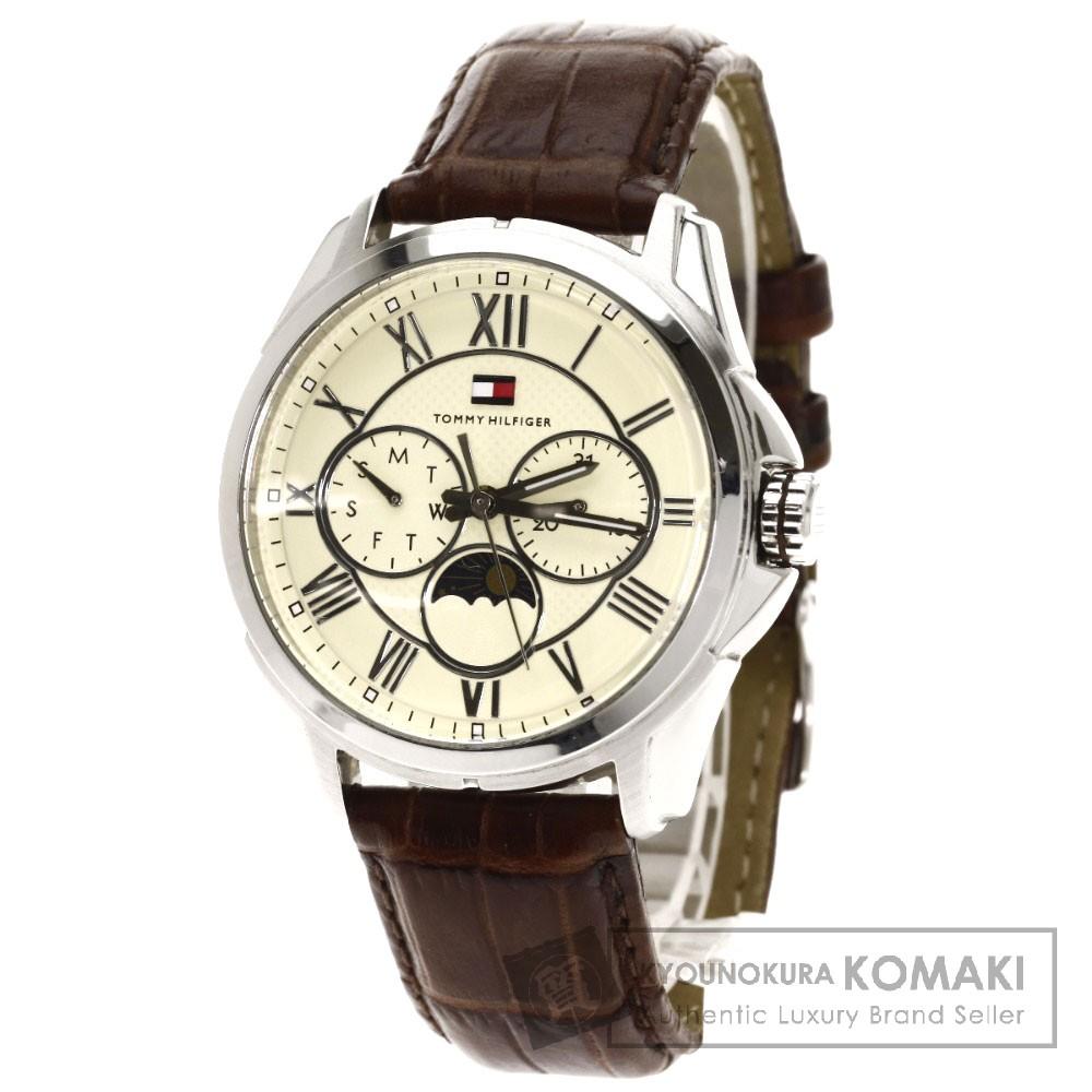 TOMMY HILFIGER TH.94.1.14.0837手表不锈钢/皮革人