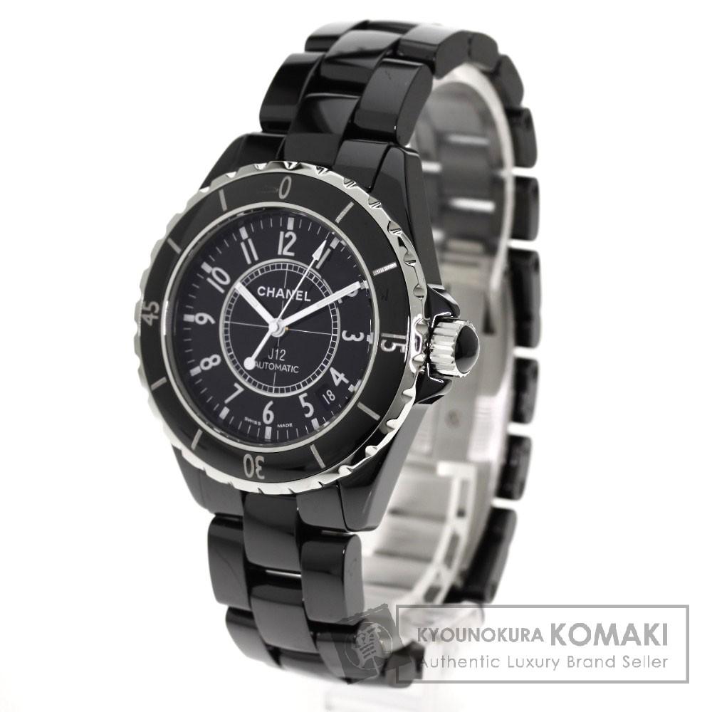 CHANEL H0685 J12 腕時計 OH済 ステンレス/セラミック メンズ 【中古】【シャネル】