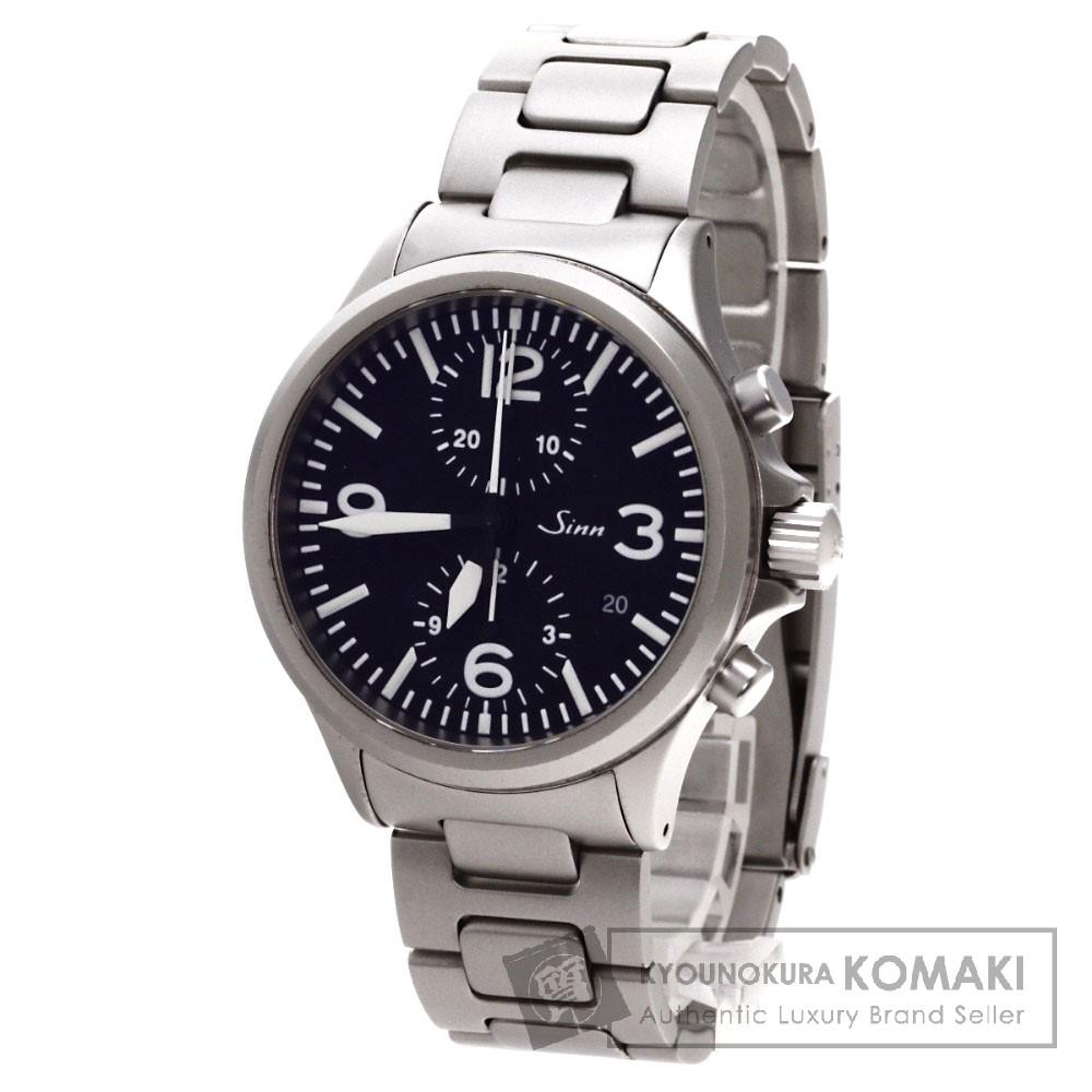 Sinn 756 腕時計 ステンレス/SS メンズ 【中古】【ジン】