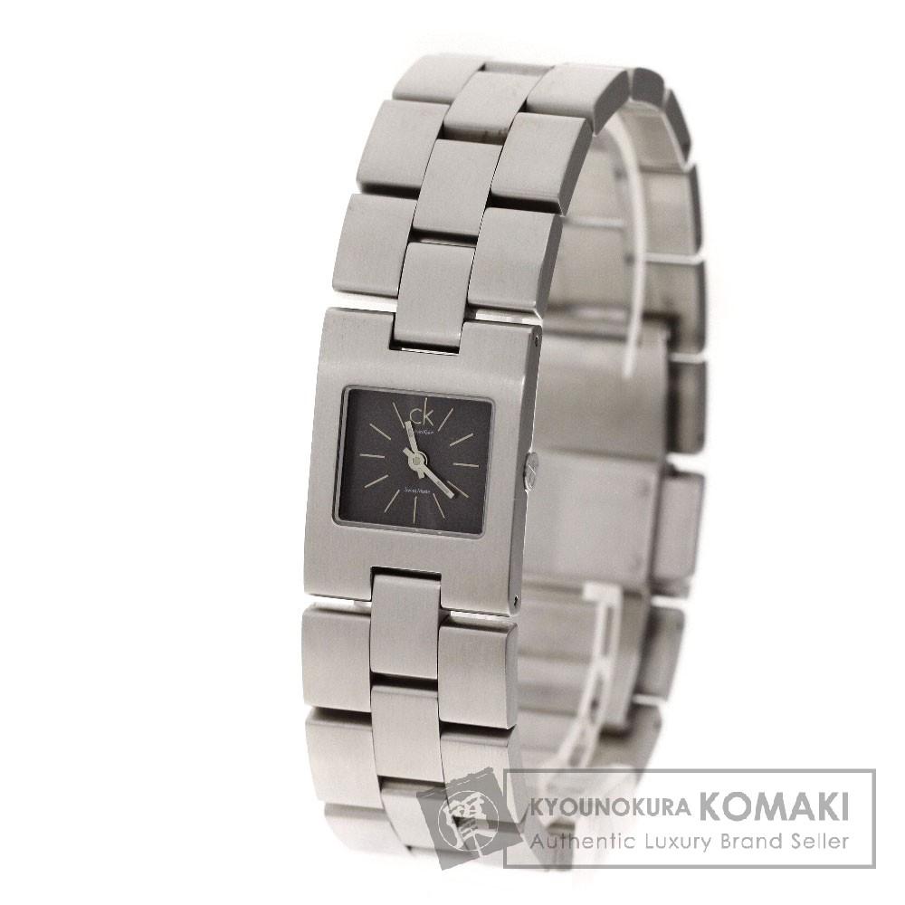 Calvin Klein K02131 腕時計 ステンレス レディース 【中古】【カルバンクライン】