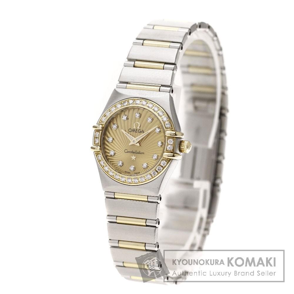 OMEGA Ref.111.25.26.60.58.001 コンステレーション 12Pダイヤモンド 腕時計 ステンレス/SSxK18YG レディース 【中古】【オメガ】