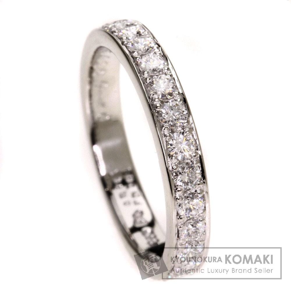 Gimel ハーフエタニティ ダイヤモンド リング・指輪 プラチナPT950 レディース 【中古】【ギメル】