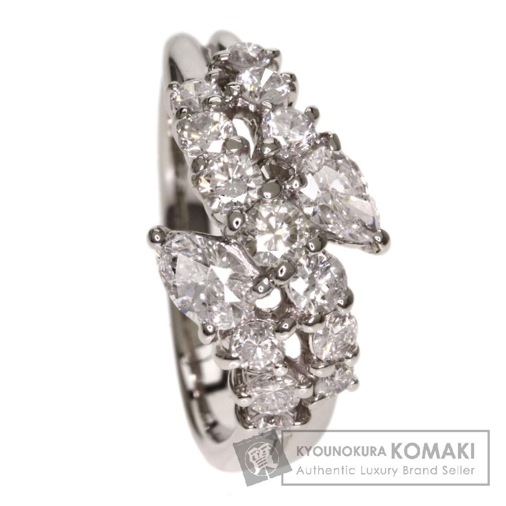 1.31ct ダイヤモンド リング・指輪 プラチナPT950 6.2g レディース 【中古】
