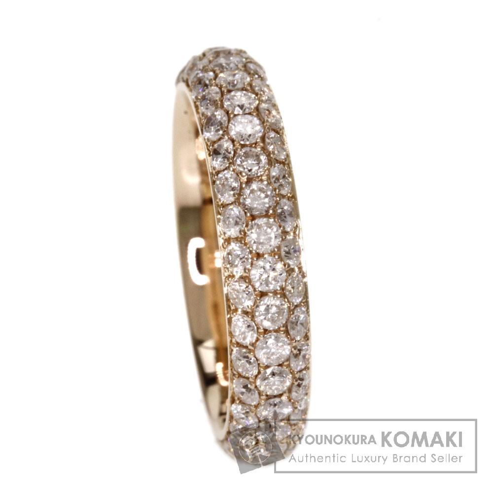 1.78ct ダイヤモンド リング・指輪 K18ピンクゴールド 3.2g レディース 【中古】