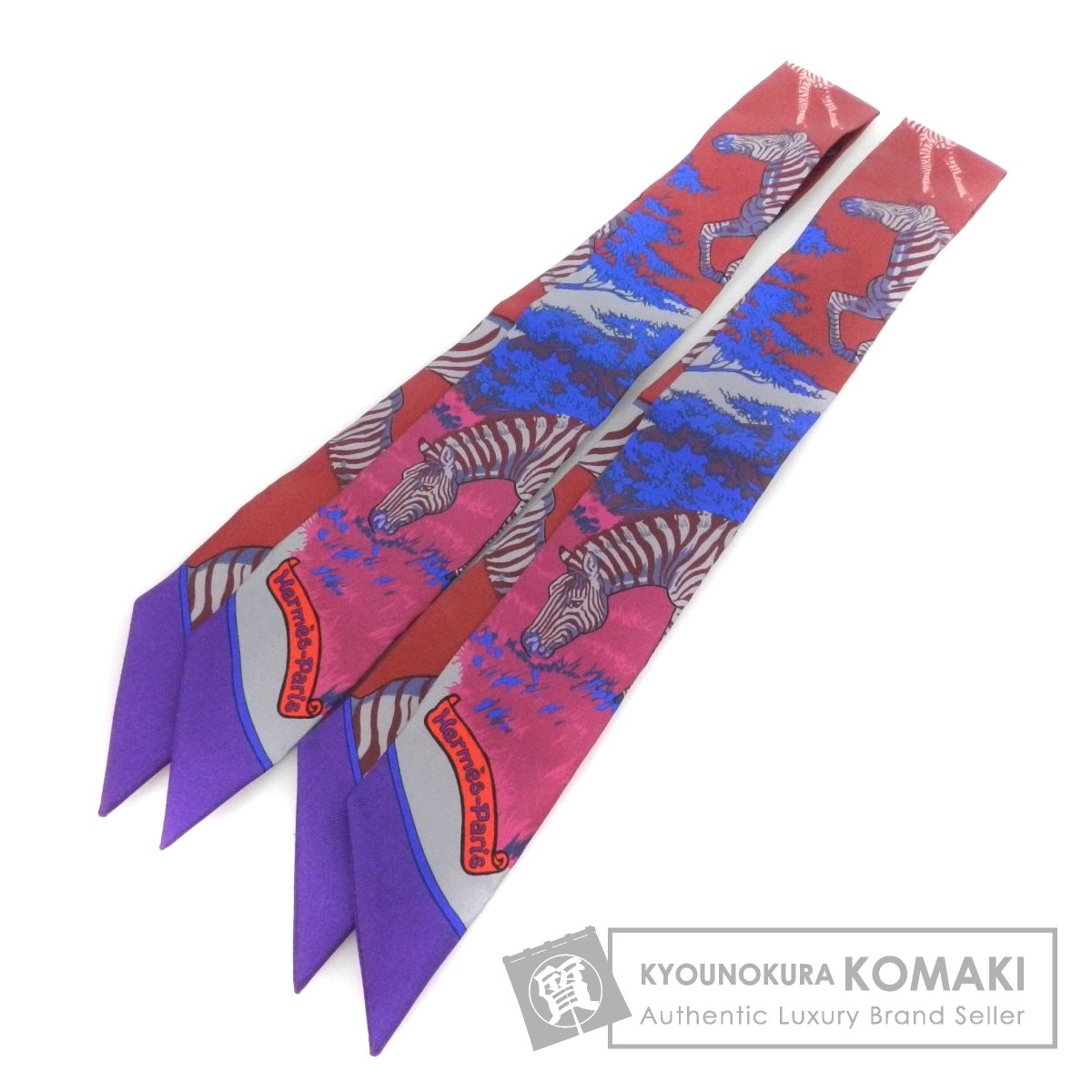 HERMES ツィリー2点セット スカーフ シルク レディース 【中古】【エルメス】