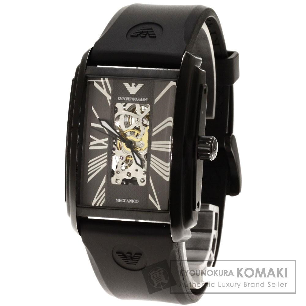Emporio Armani AR-4226-30 腕時計 ステンレス/ラバー メンズ 【中古】【エンポリオ・アルマーニ】