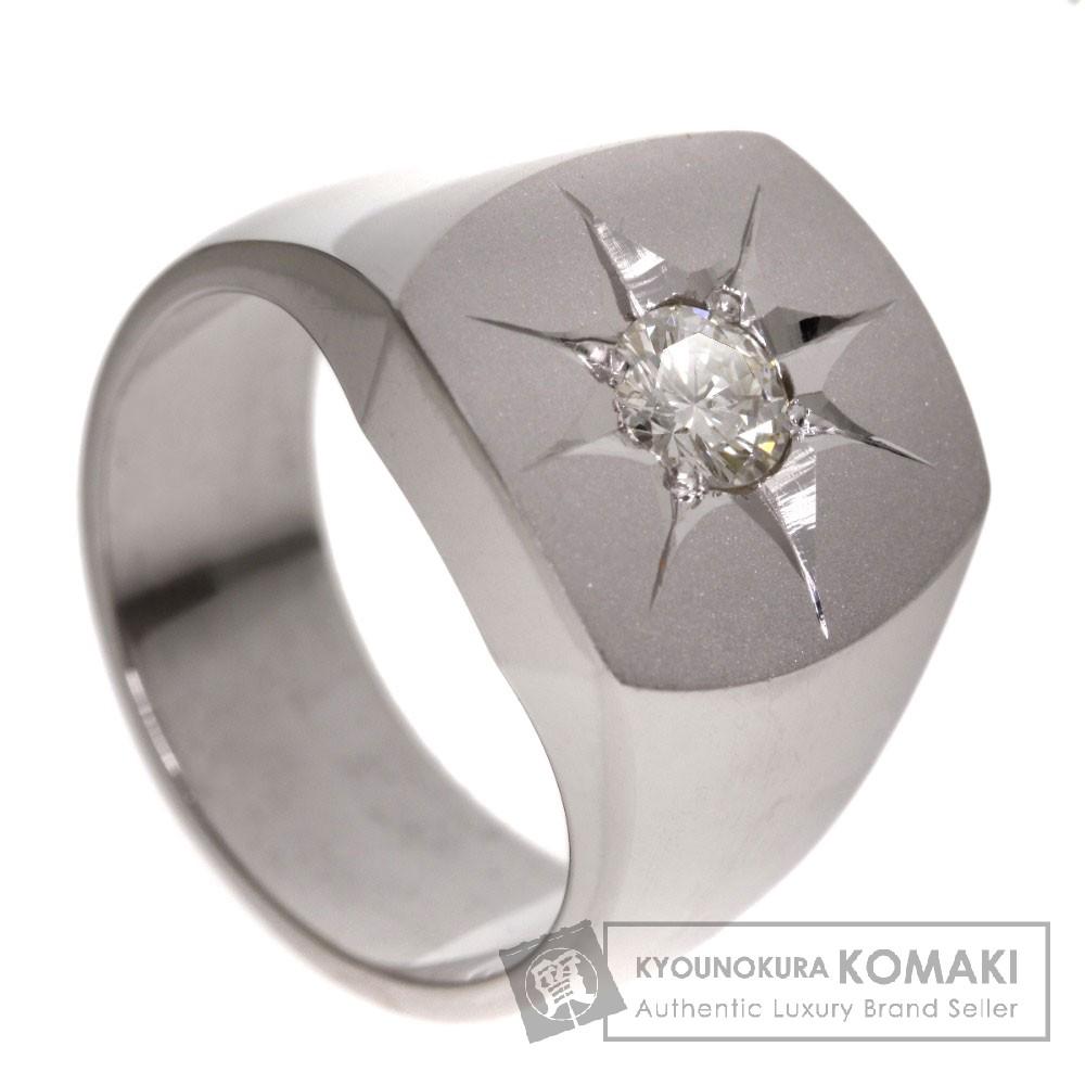 0.447ct ダイヤモンド リング・指輪 プラチナPT900 30g レディース 【中古】