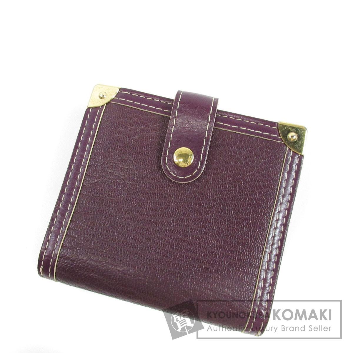 LOUIS VUITTON コンパクトジップ 二つ折り財布(小銭入れあり) スハリ レディース 【中古】【ルイ・ヴィトン】
