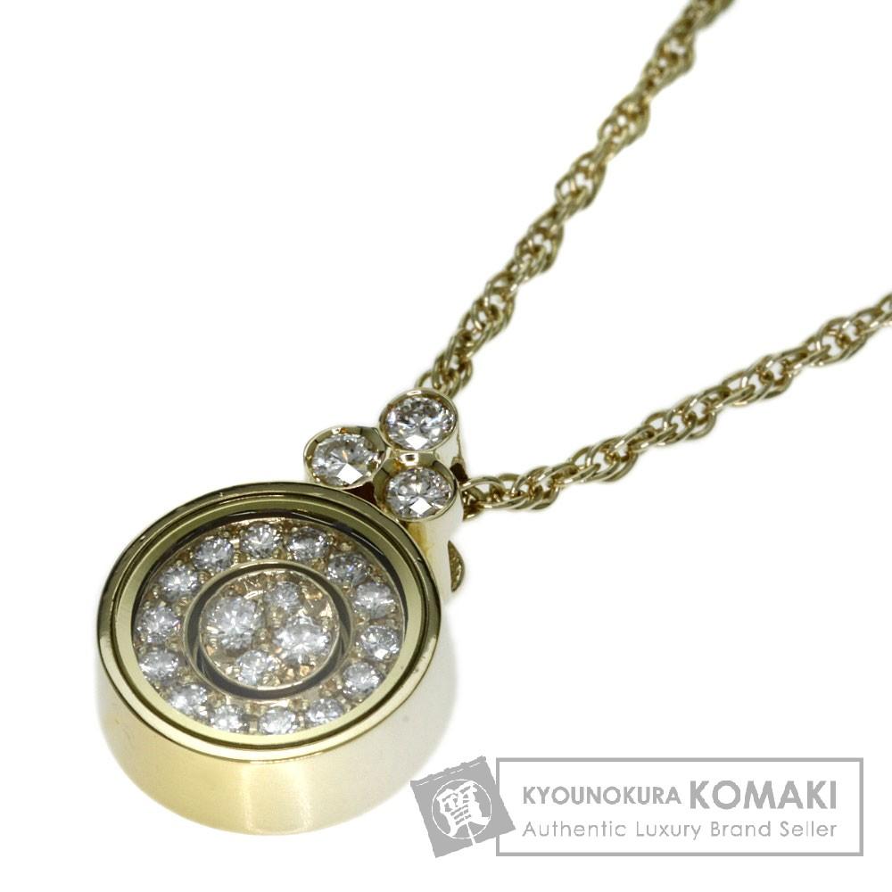WALTHAM ダイヤモンド ネックレス K18イエローゴールド レディース 【中古】【ウォルサム】