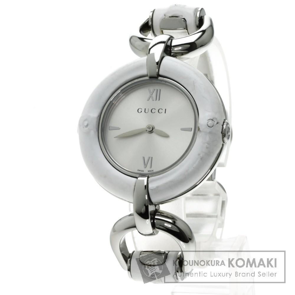GUCCI YA132.4 腕時計 ステンレス/SS レディース 【中古】【グッチ】