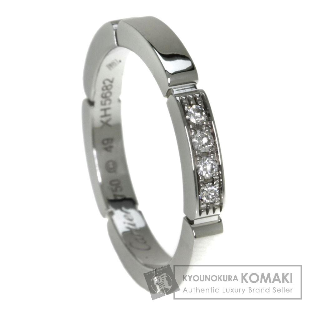 CARTIER マイヨンパンテール ダイヤモンド リング・指輪 K18ホワイトゴールド レディース 【中古】【カルティエ】