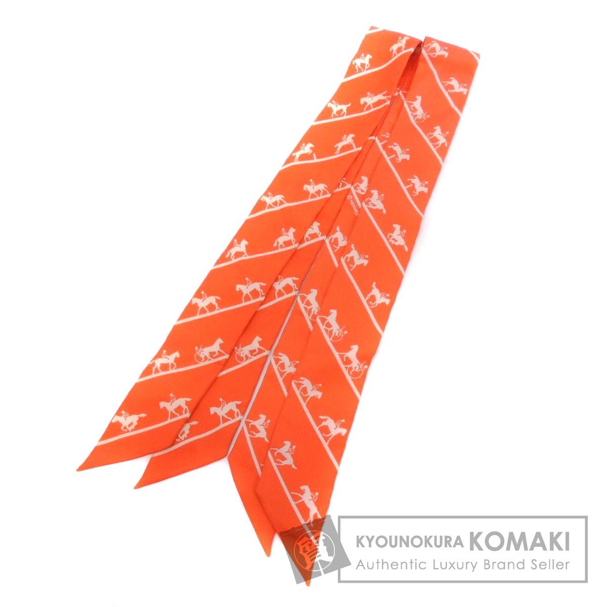 HERMES ツイリー 2枚セット スカーフ シルク レディース 【中古】【エルメス】
