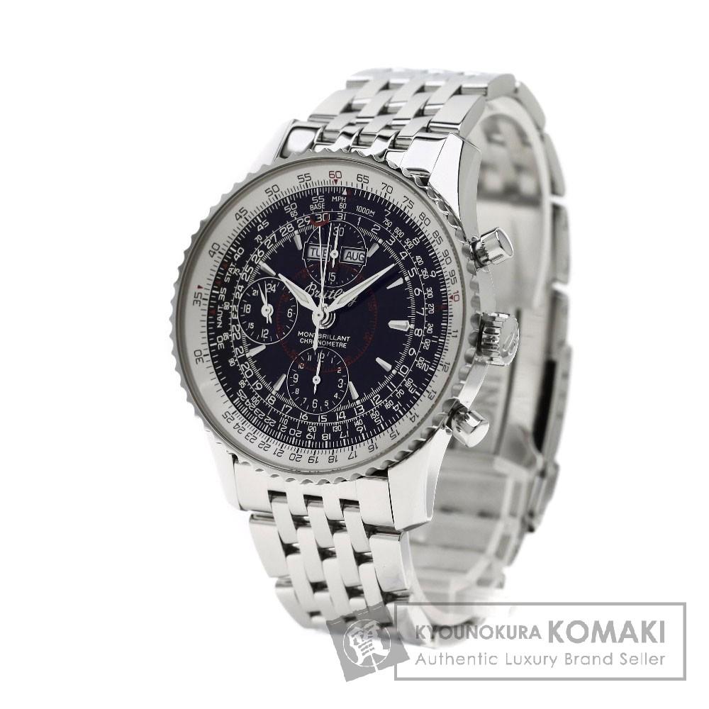 BREITLING A21330 モンブリラン ダトラ 腕時計 OH済 ステンレス メンズ 【中古】【ブライトリング】