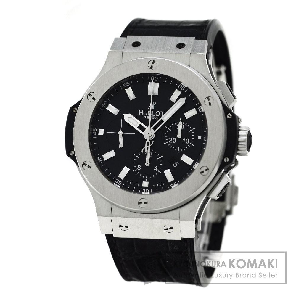 HUBLOT 301.SX.1170.GR ビックバン 腕時計 ステンレス/アリゲーターラバー メンズ 【中古】【ウブロ】