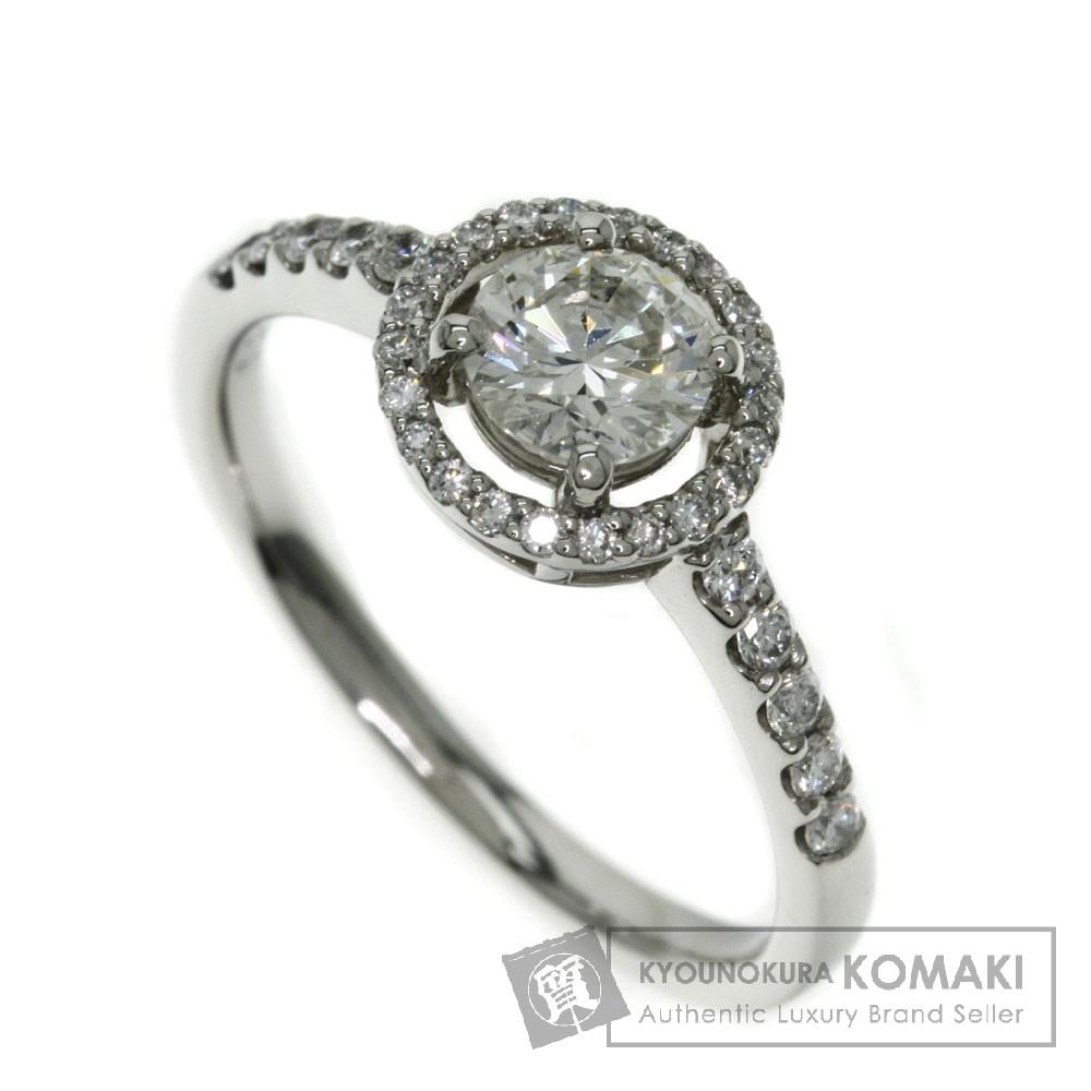 0.513ct ダイヤモンド リング・指輪 プラチナPT900 3.6g レディース 【中古】