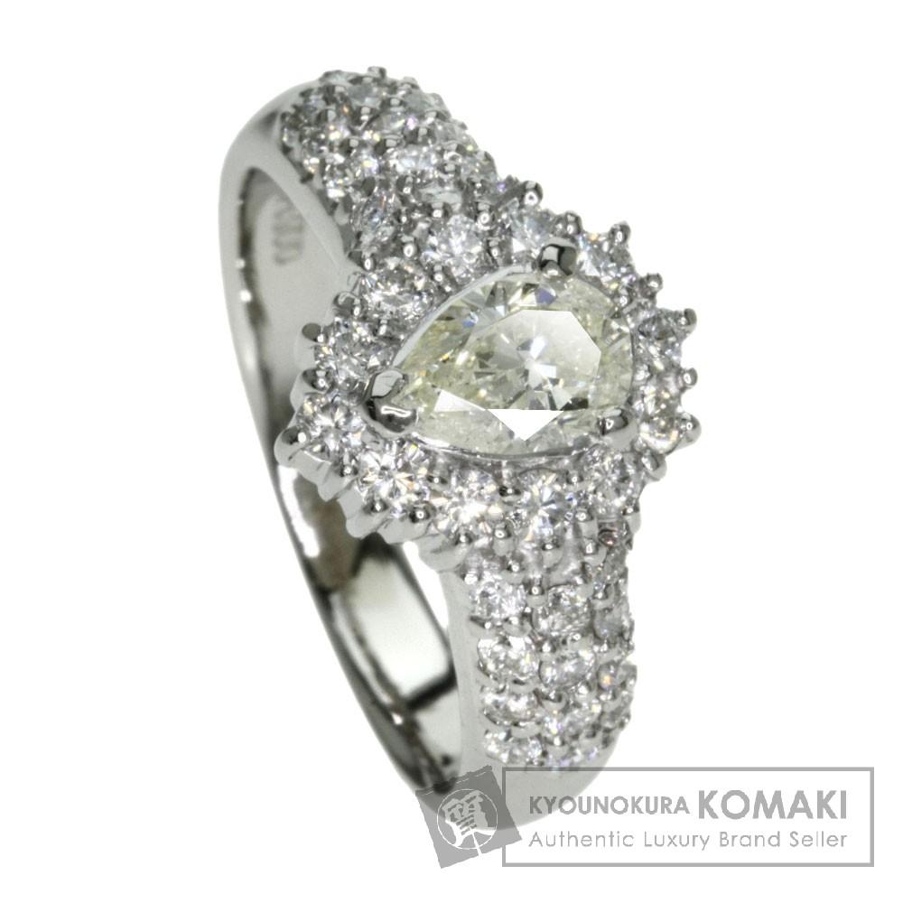 0.453ct ダイヤモンド リング・指輪 プラチナPT900 6.1g レディース 【中古】