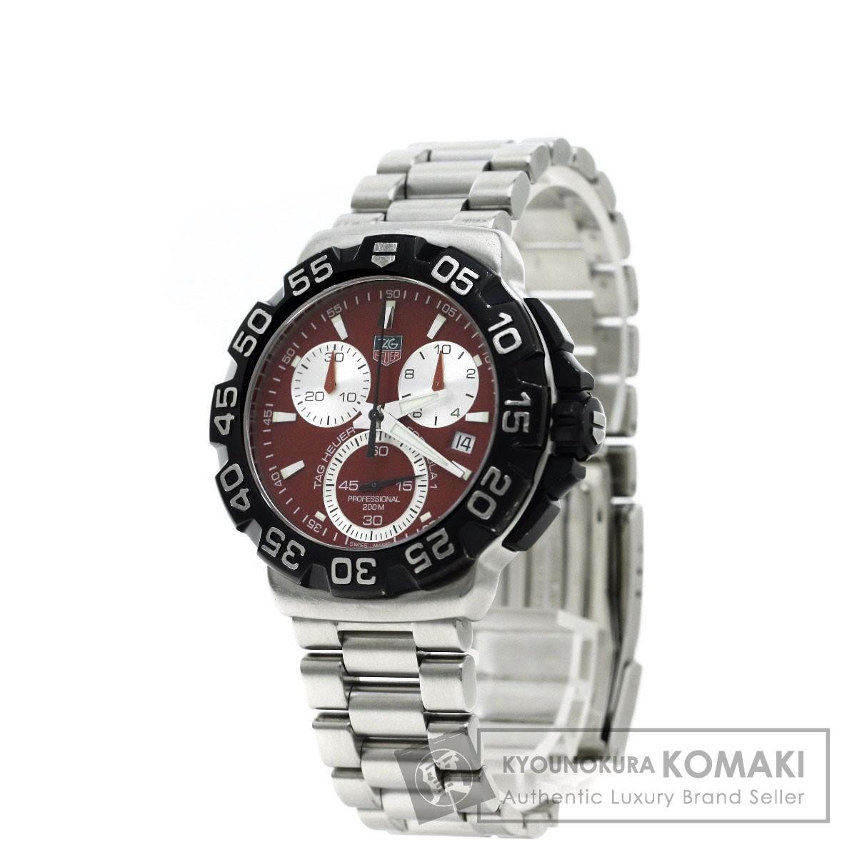 TAG HEUER CAH1112 フォーミュラ1 腕時計 ステンレス メンズ 【中古】【タグホイヤー】