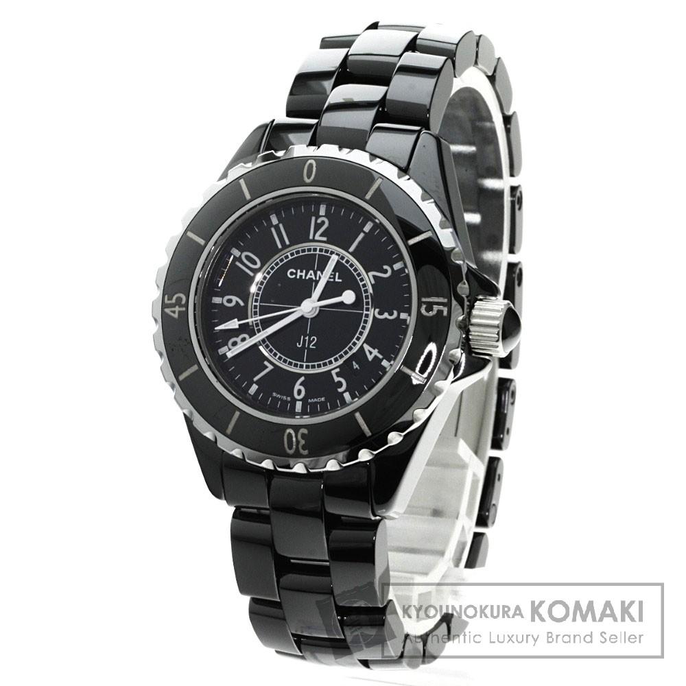 CHANEL H0682 J12 腕時計 ステンレス/セラミック レディース 【中古】【シャネル】