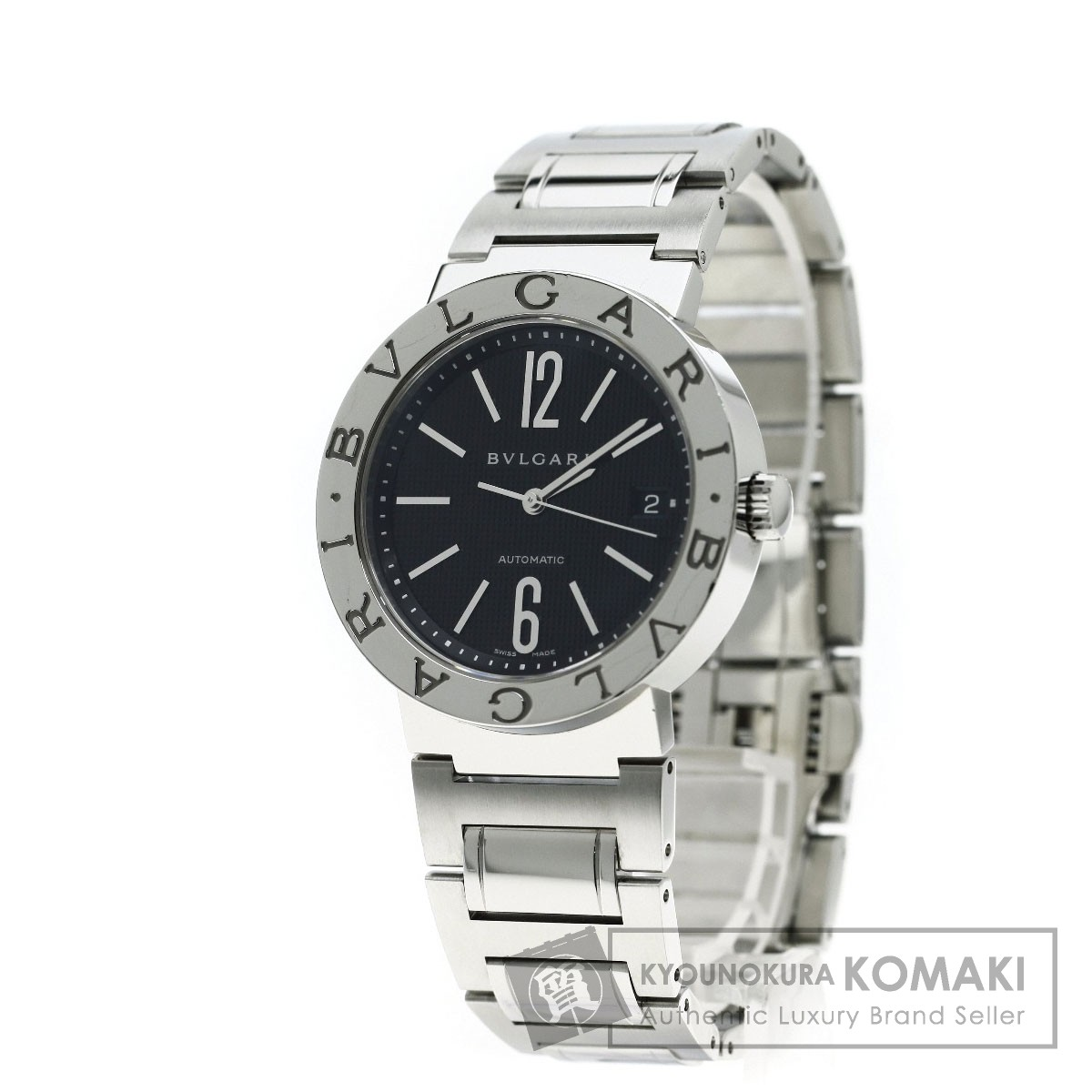 BVLGARI BB38BSSD ブルガリブルガリ 腕時計 ステンレス メンズ 【中古】【ブルガリ】