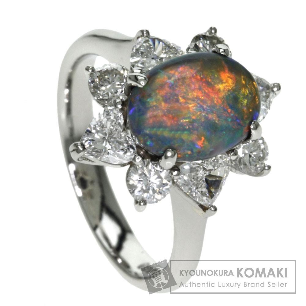 1.93ct オパール/ダイヤモンド リング・指輪 プラチナPT900 7.2g レディース 【中古】