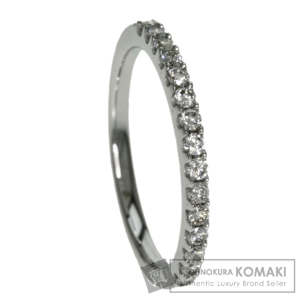 0.22ct ダイアモンド リング・指輪 K18ホワイトゴールド 2g レディース 【中古】
