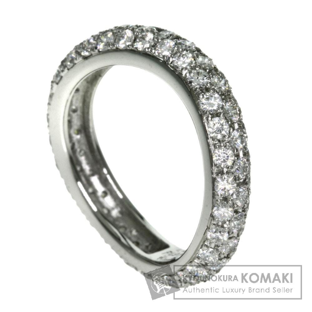 1.26ct ダイアモンド リング・指輪 プラチナPT900 4.5g レディース 【中古】