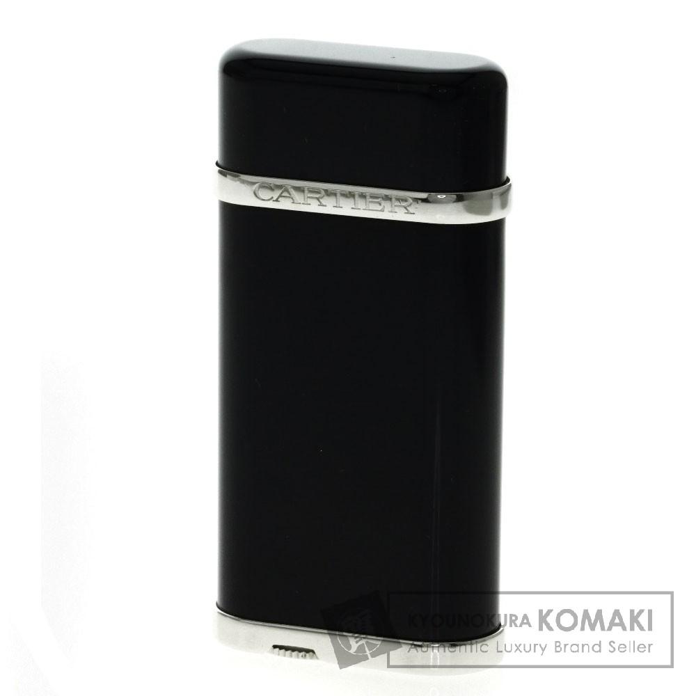 CARTIER ブラックコンポジット CA120118 ライター 金属製 メンズ 【中古】【カルティエ】
