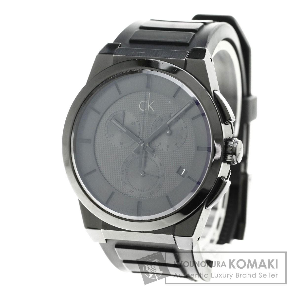 Calvin Klein K2S374 腕時計 ステンレス/ラバー メンズ 【中古】【カルバンクライン】