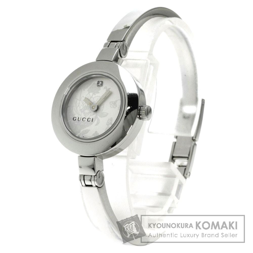 GUCCI YA105 1Pダイヤモンド 腕時計 ステンレス/SS レディース 【中古】【グッチ】